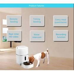 Comedero para perros de pequeñas dimensiones GoodFeeders GF-8L. Comedero automáticos para perros.