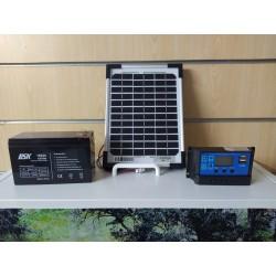 Kit solar para comederos automáticos GoodFeeders.