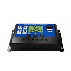 Regulador solar utilizado en nuestros comederos automáticos.
