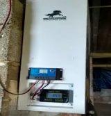 Comedero para perros con alimentación a través de kit solar